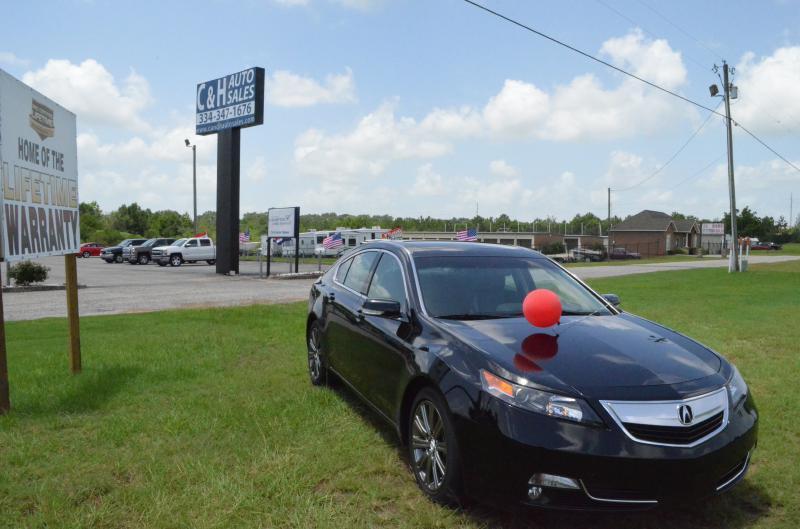 2014 Acura TL for sale at C & H AUTO SALES - Daleville in Daleville AL