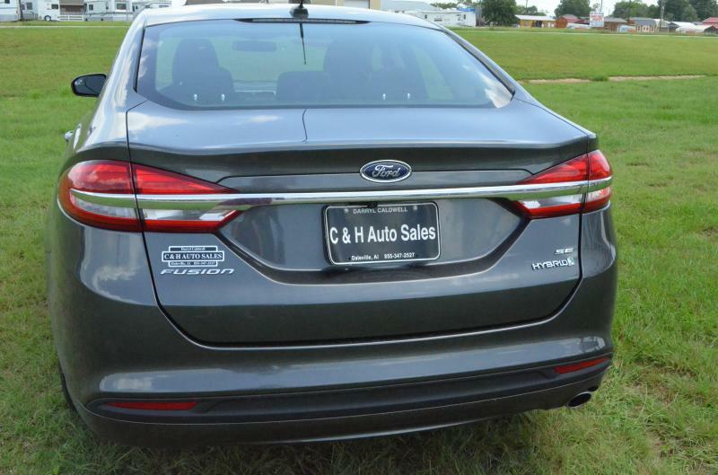 2017 Ford Fusion Hybrid for sale at C & H AUTO SALES - Daleville in Daleville AL