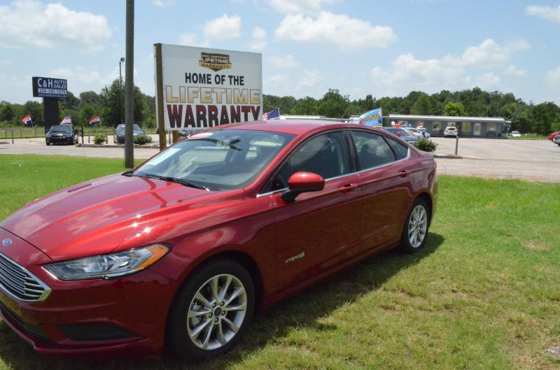 2017 Ford Fusion Hybrid for sale at C & H AUTO SALES - Daleville in Daleville AL