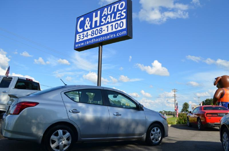 2016 Nissan Versa for sale at C & H AUTO SALES in Troy AL