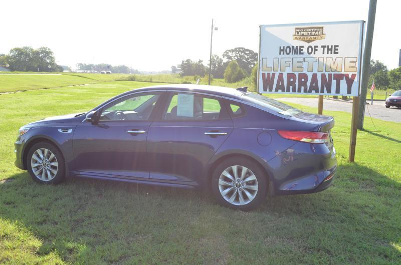 2016 Kia Optima for sale at C & H AUTO SALES in Troy AL