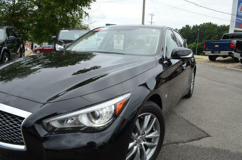 2017 Infiniti Q50 for sale at C & H AUTO SALES in Troy AL