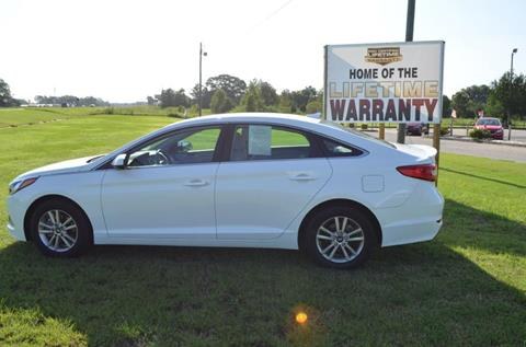 2017 Hyundai Sonata for sale at C & H AUTO SALES - Daleville in Daleville AL