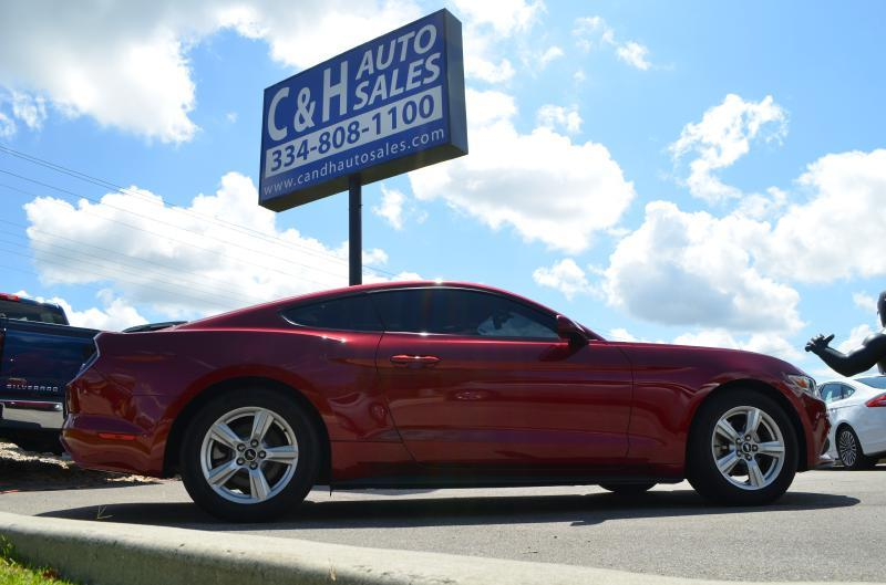 2015 Ford Mustang for sale at C & H AUTO SALES in Troy AL