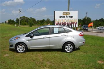 2015 Ford Fiesta for sale at C & H AUTO SALES - Daleville in Daleville AL