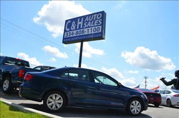 2014 Volkswagen Jetta for sale at C & H AUTO SALES in Troy AL