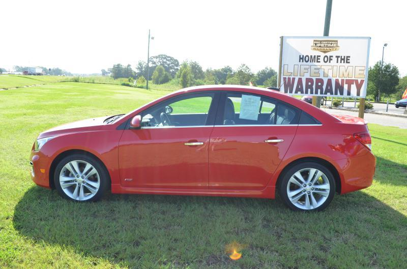 2015 Chevrolet Cruze for sale at C & H AUTO SALES - Daleville in Daleville AL