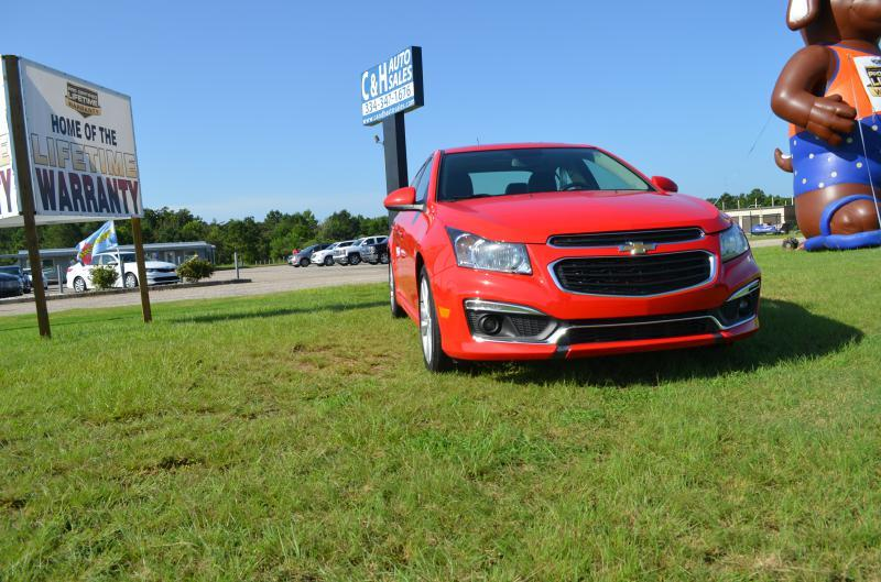 2015 Chevrolet Cruze for sale at C & H AUTO SALES - Daleville in Daleville AL