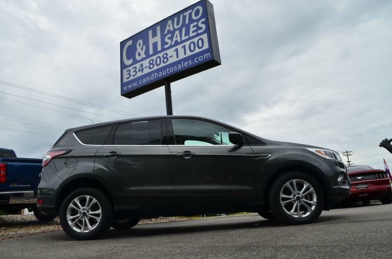 2017 Ford Escape for sale at C & H AUTO SALES - Daleville in Daleville AL