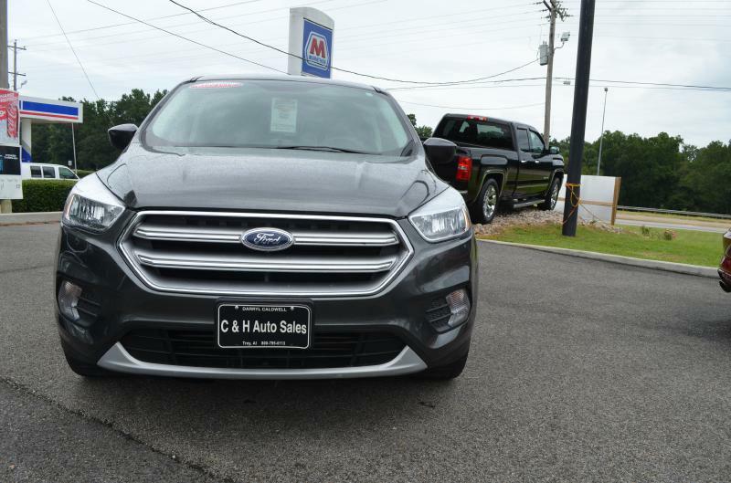 2017 Ford Escape for sale at C & H AUTO SALES - Daleville in Daleville AL