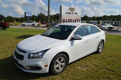 2016 Chevrolet Cruze Limited for sale in Daleville, AL