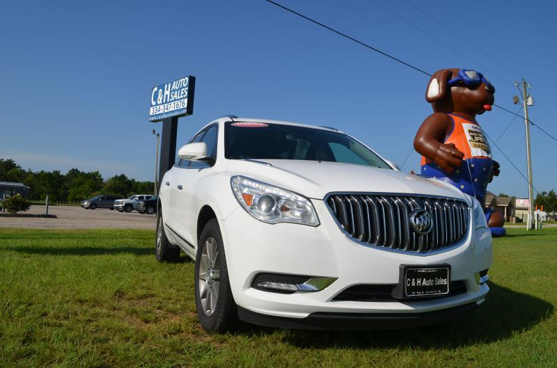 2016 Buick Enclave for sale at C & H AUTO SALES - Daleville in Daleville AL