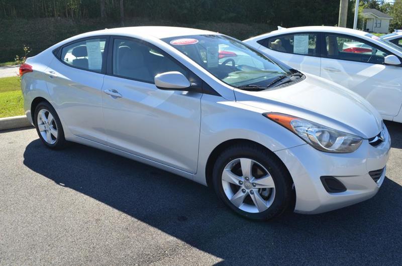 2013 Hyundai Elantra for sale at C & H AUTO SALES in Troy AL