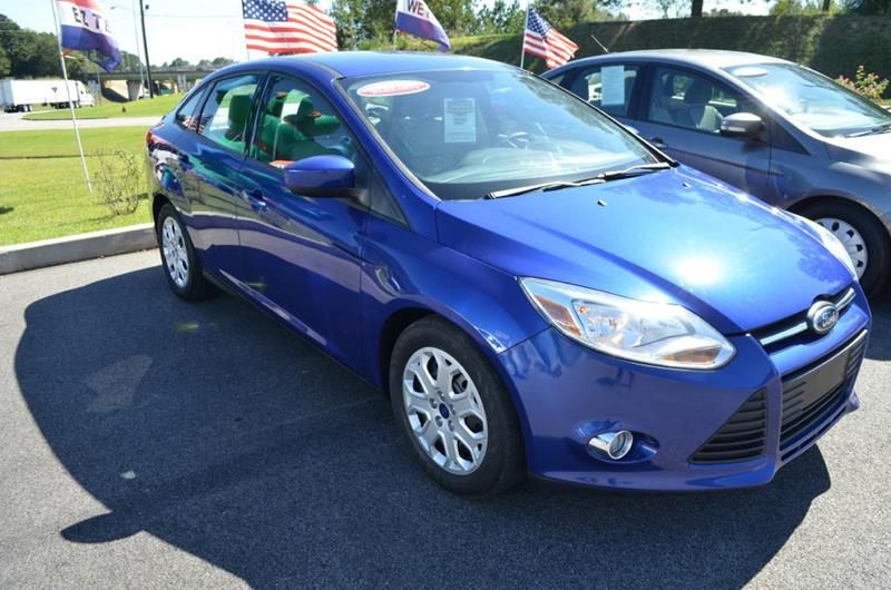 2012 Ford Focus for sale at C & H AUTO SALES in Troy AL