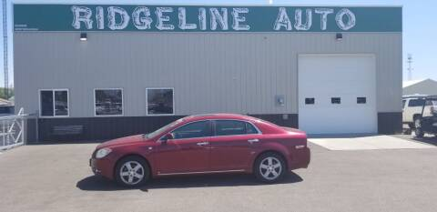 2008 Chevrolet Malibu for sale at RIDGELINE AUTO in Chubbuck ID
