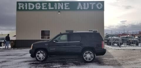 2014 Cadillac Escalade for sale at RIDGELINE AUTO in Chubbuck ID