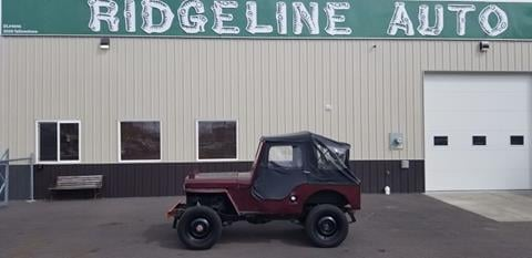 1949 Jeep Willys for sale in Chubbuck, ID