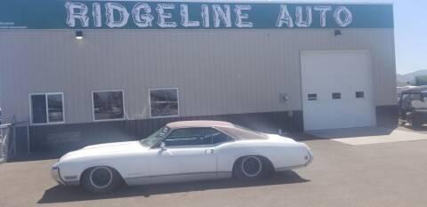 1969 Buick Riviera for sale at RIDGELINE AUTO in Chubbuck ID