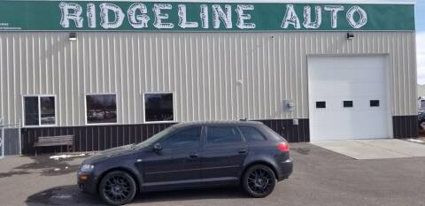 2006 Audi A3 for sale at RIDGELINE AUTO in Chubbuck ID