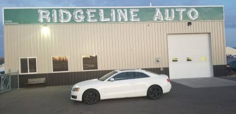 2010 Audi A5 for sale at RIDGELINE AUTO in Chubbuck ID