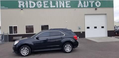 2010 Chevrolet Equinox for sale at RIDGELINE AUTO in Chubbuck ID