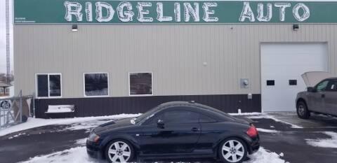 2006 Audi TT for sale at RIDGELINE AUTO in Chubbuck ID