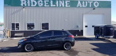 2013 Hyundai Elantra GT for sale at RIDGELINE AUTO in Chubbuck ID