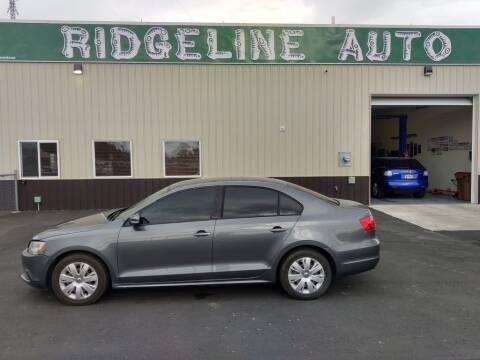2012 Volkswagen Jetta for sale at RIDGELINE AUTO in Chubbuck ID