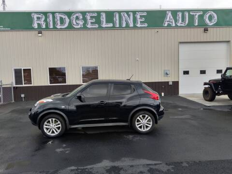 2013 Nissan JUKE for sale at RIDGELINE AUTO in Chubbuck ID
