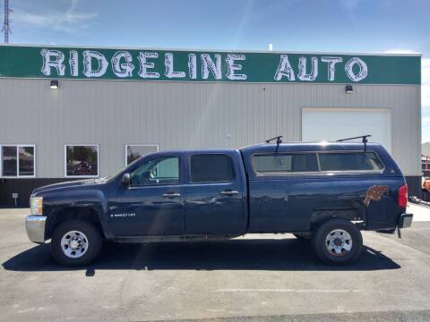 2008 Chevrolet Silverado 3500HD for sale at RIDGELINE AUTO in Chubbuck ID