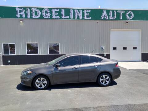2015 Dodge Dart for sale at RIDGELINE AUTO in Chubbuck ID
