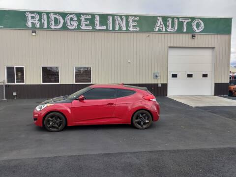 2015 Hyundai Veloster for sale at RIDGELINE AUTO in Chubbuck ID