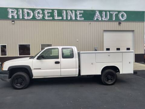 2004 Chevrolet Silverado 2500HD for sale at RIDGELINE AUTO in Chubbuck ID