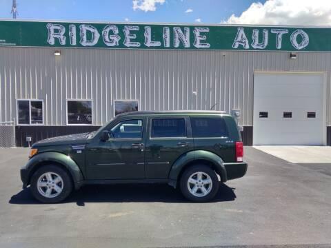 2010 Dodge Nitro for sale at RIDGELINE AUTO in Chubbuck ID