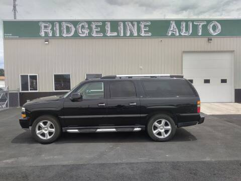 2006 Chevrolet Suburban for sale at RIDGELINE AUTO in Chubbuck ID