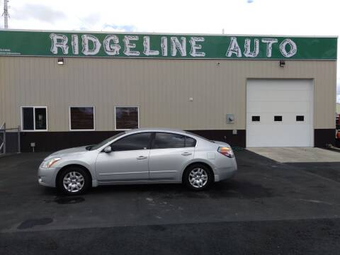 2012 Nissan Altima for sale at RIDGELINE AUTO in Chubbuck ID