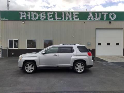 2011 GMC Terrain for sale at RIDGELINE AUTO in Chubbuck ID