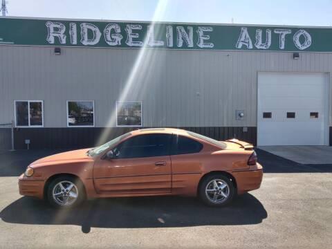 2004 Pontiac Grand Am for sale at RIDGELINE AUTO in Chubbuck ID
