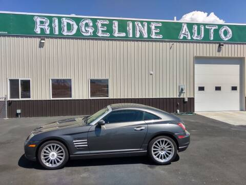 2004 Chrysler Crossfire for sale at RIDGELINE AUTO in Chubbuck ID