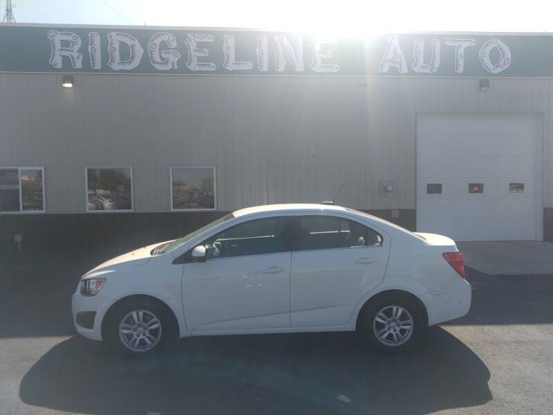 2015 Chevrolet Sonic for sale at RIDGELINE AUTO in Chubbuck ID