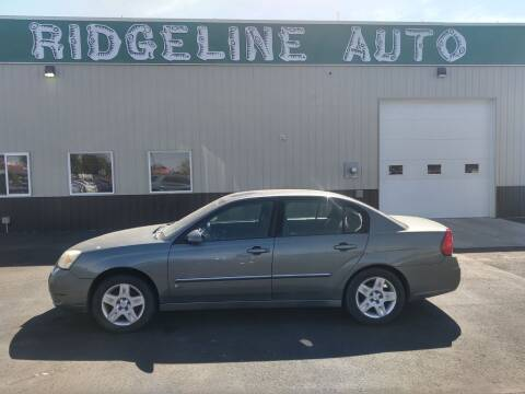 2006 Chevrolet Malibu for sale at RIDGELINE AUTO in Chubbuck ID