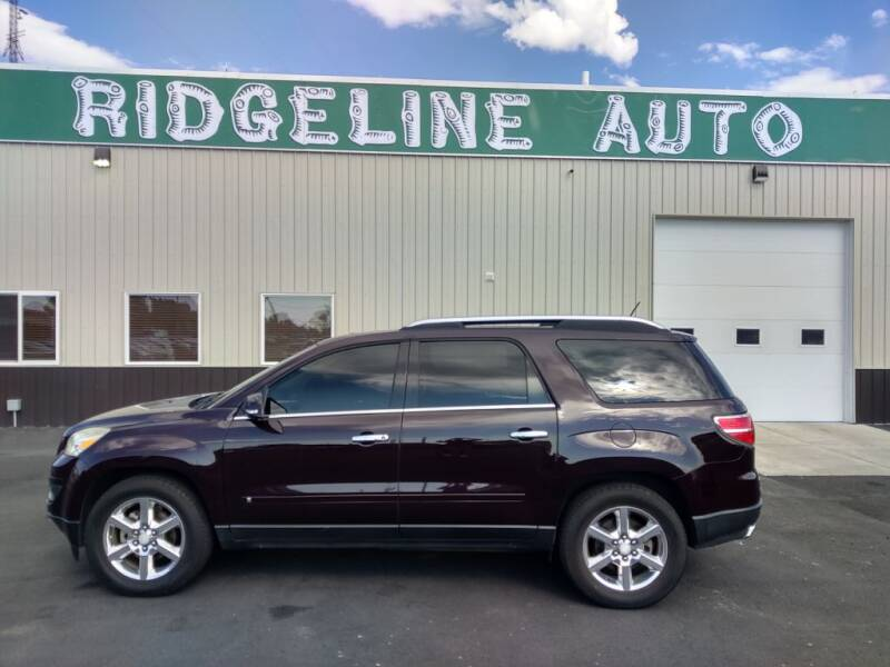 2008 Saturn Outlook for sale at RIDGELINE AUTO in Chubbuck ID