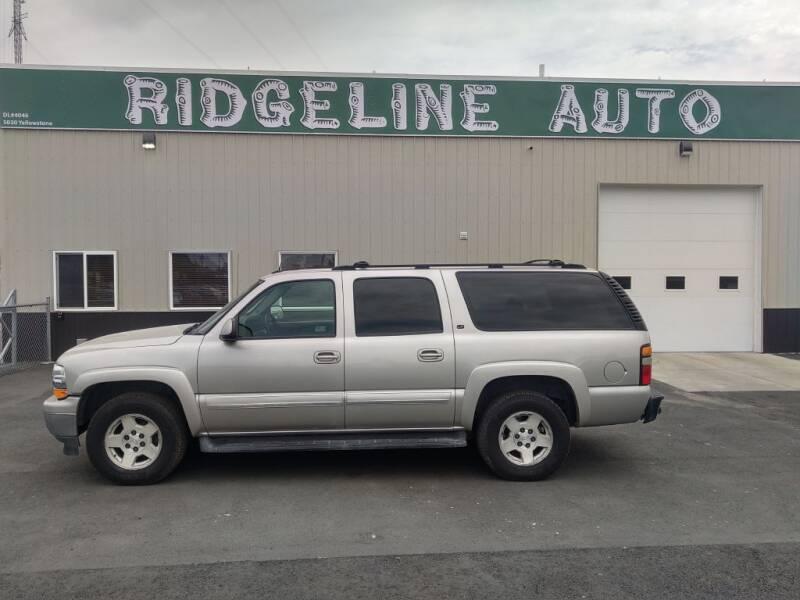 2005 Chevrolet Suburban for sale at RIDGELINE AUTO in Chubbuck ID