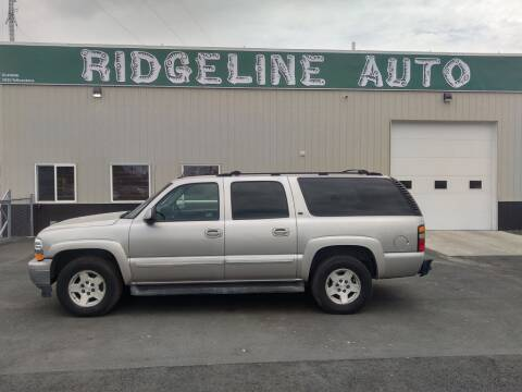 2005 Chevrolet Suburban for sale at RIDGELINE AUTO in Chubbuck ID