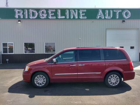 2012 Chrysler Town and Country for sale at RIDGELINE AUTO in Chubbuck ID