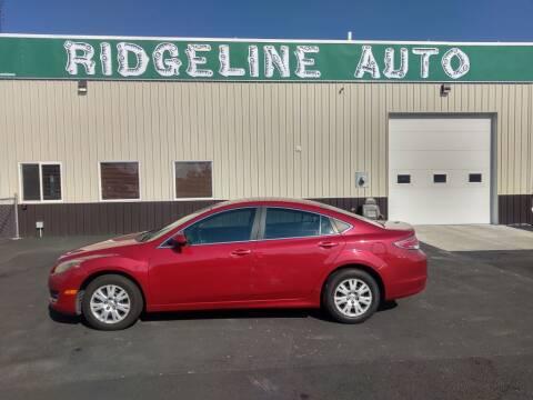 2010 Mazda MAZDA6 for sale at RIDGELINE AUTO in Chubbuck ID