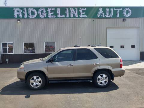 2003 Acura MDX for sale at RIDGELINE AUTO in Chubbuck ID