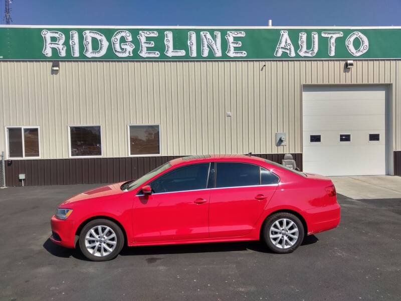 2014 Volkswagen Jetta for sale at RIDGELINE AUTO in Chubbuck ID