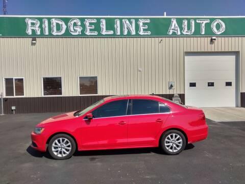2014 Volkswagen Jetta for sale at RIDGELINE AUTO in Chubbuck ID
