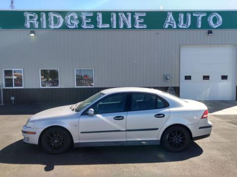 2003 Saab 9-3 for sale at RIDGELINE AUTO in Chubbuck ID